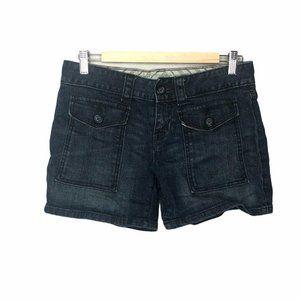 Gap 1969 Jean Denim Shorts Limited Edition Dark 4